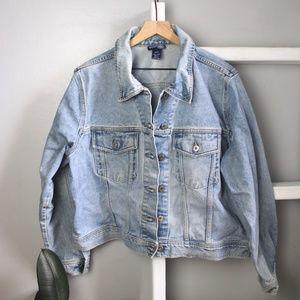 VTG Venezia Jeans Denim Jacket Size 18/20